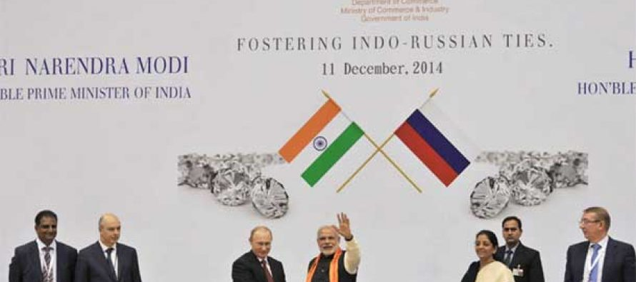 Russia to supply $2.1 bn worth of rough diamonds to India