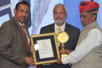 CMD, POWERGRID felicitated with Power Persona of the Year award by CBIP