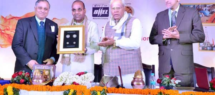 Commemorative coins releases on the occasion of BHEL's Golden Jubilee