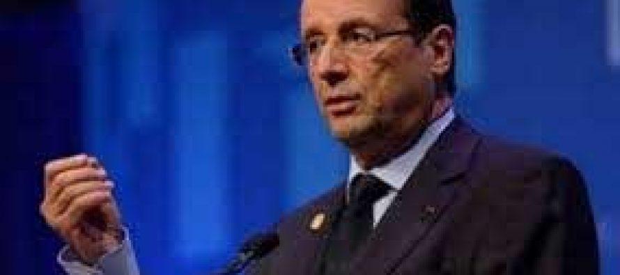President Hollande declares Jan 8 mourning day in France