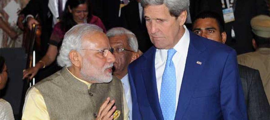 Modi, Kerry warm hug indicator of relations