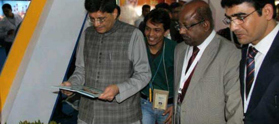 MOSP visits Power Pavilion in Vibrant Gujarat