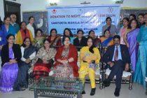 NTPC Ladies Club Donates Mattresses for Night Shelters