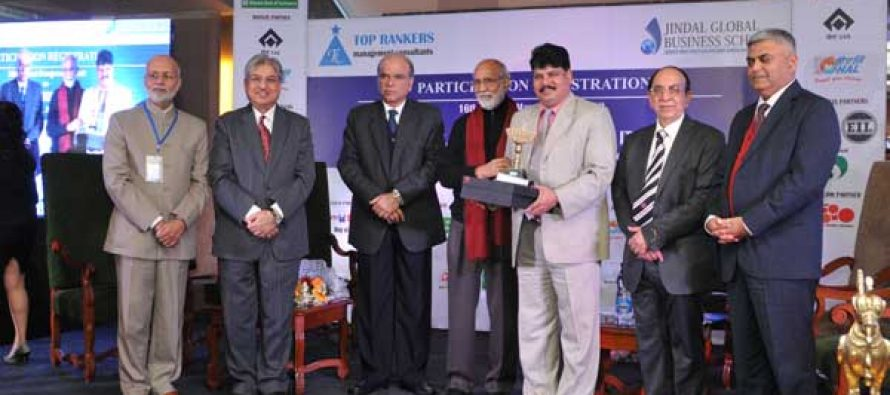 NTPC Director Finance Awarded as Financial Pride of India