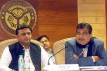 Gadkari, Akhilesh discuss improvement of UP roads