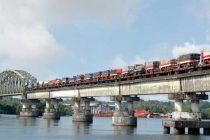Konkan Railways delivers 2 DEMU train sets to Nepal Railways