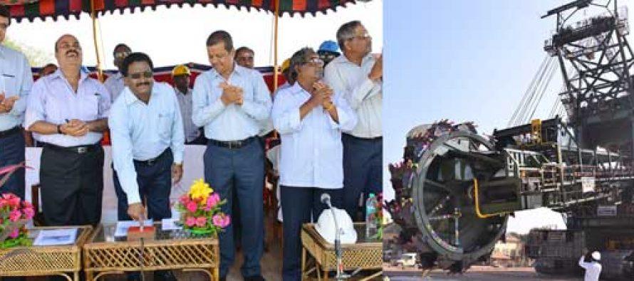 NLC revives 30-year-old bucket wheel excavator