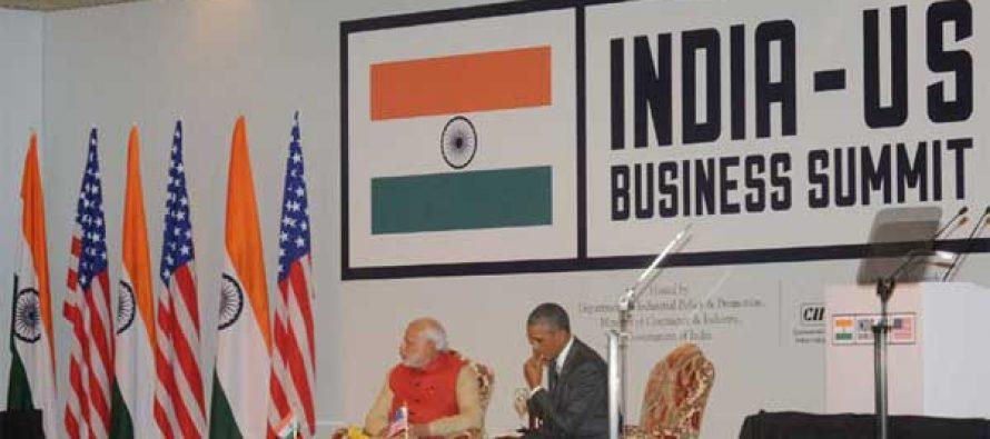 Obama, Modi at India-US CEO Forum