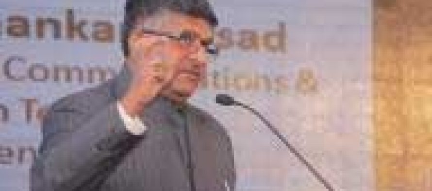 Internet should not become the monopoly of few : Prasad