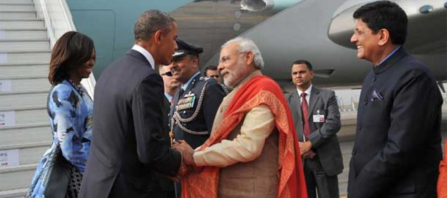 Spirit of Gandhi very much alive in India today : Obama