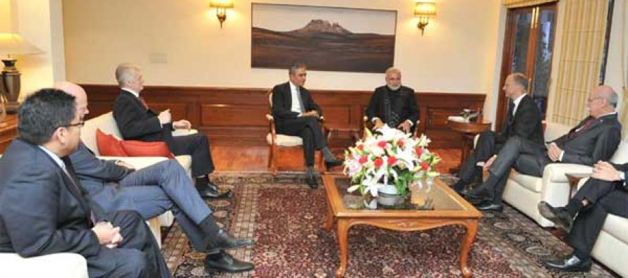 Global CEOs meet Modi, express intent to invest more
