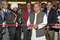 The Minister for Mines and Steel, Narendra Singh Tomar inaugurating the Exhibition of the 54th Central Geological Programming