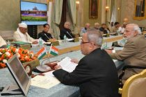 The President of India, Pranab Mukherjee, during the Conference of Governors at Rashtrapati Bhavan on 11-02-15.
