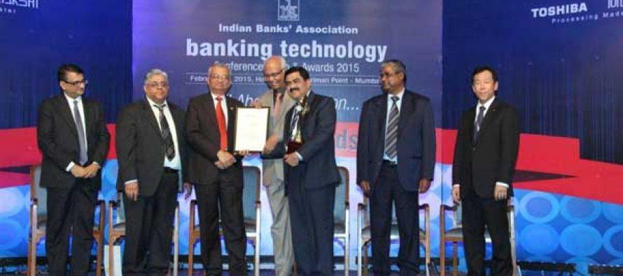 Punjab National Bank Gets IBA Banking Technology Award