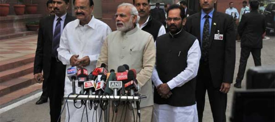 We'll try to discuss important issues: Modi