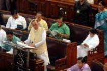 West Bengal finance minister presents Rs.4 crore deficit budget