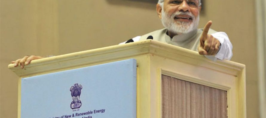 India can show the way to combat global warming : Modi