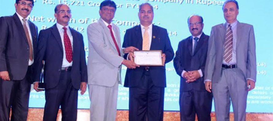 """R T Agarwal, Director (Finance) , POWERGRID conferred """"CA-CFO Power Sector Award"""""""