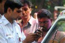 Delhi:Over 600 challans issued for drunken driving on Holi