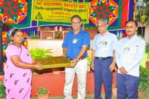 National Safety Day  Observed at Neyveli  Thermal  Power Stations