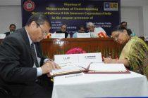 The Minister for Railways, Suresh Prabhakar Prabhu and the Minister for Finance, Corporate Affairs and I&B, Arun Jaitley