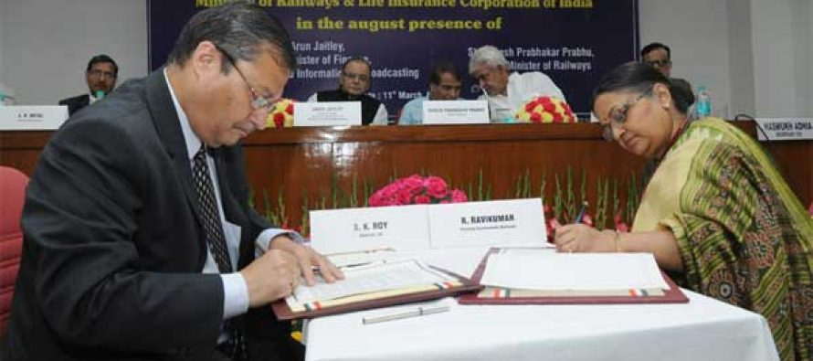 LIC to invest Rs.150,000 crore in Indian Railways