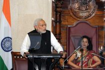 The Prime Minister, Narendra Modi addressing the National Assembly of Mauritius, in Mauritius on March 12 2015.