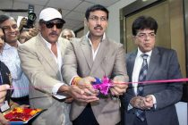 The Minister of State for Information & Broadcasting, Col. Rajyavardhan Singh Rathore inaugurating the New FM Transmitter