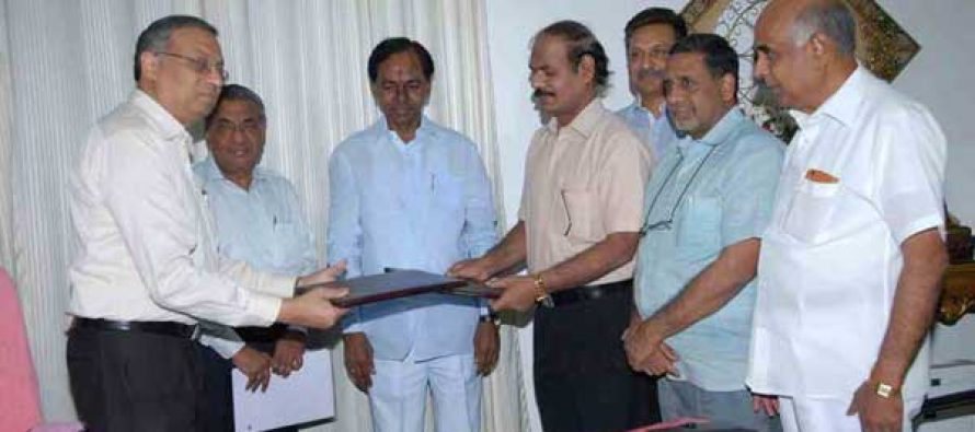 PFC Signs MoU With Telangana State GENCO