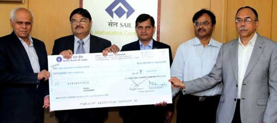 SAIL receives dividend from NSPCL