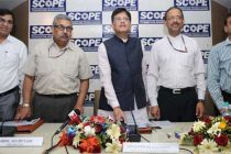 The MoS (IC) for Power, Coal and New and Renewable Energy, Piyush Goyal launching the Coal Project Monitoring Portal