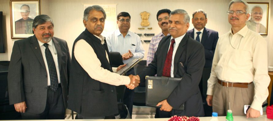 REC signs MOU with Ministry of Power for FY 2015-16