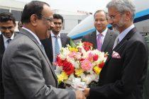 SAARC yatra: Jaishankar meets his Pakistani counterpart