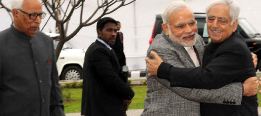 BJP-PDP alliance a historic opportunity : PM