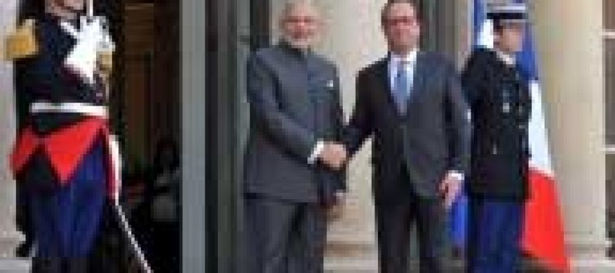 India a bright spot in global economy, says France