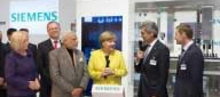 Modi invites Merkel to Maharashtra
