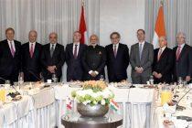 Modi meets leading Canadian CEOs