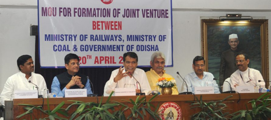 Coal, railway ministries, Odisha sign coal evacuation MoU