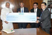 BSE contributes Rs.1.01 crore to Swachh Bharat Kosh