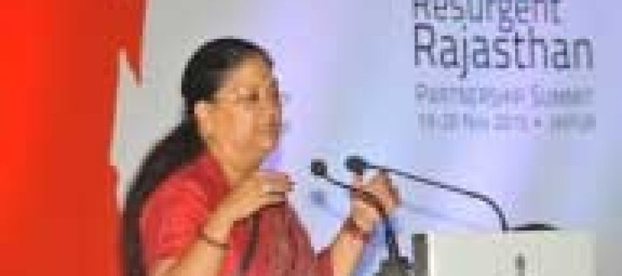 Invest in Rajasthan: Vasundhara to Bengal businessmen