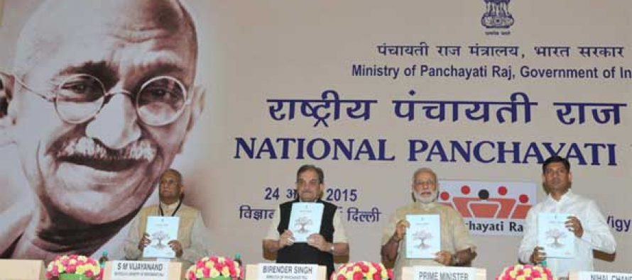 We need to think on how to develop villages: Modi