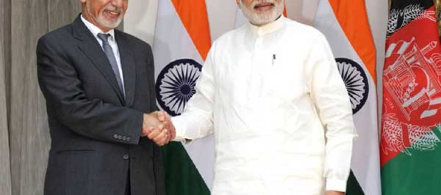 Ghani, Modi hold delegation level talks