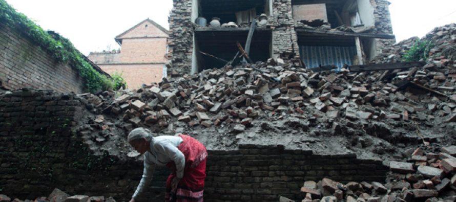Widespread destruction as quake ravages Nepal, rocks India