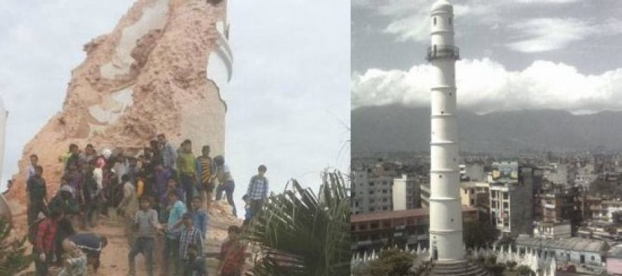 250 killed as Kathmandu's iconic tower collapses