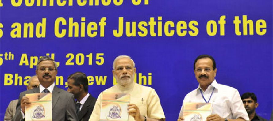 India needs good law institutions, manpower : Modi