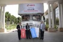 Hero MotoCorp gives 100 motorcycles to UNICEF for Nepal relief