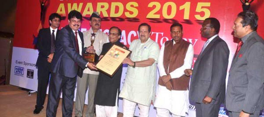 Director ( Finance ) NTPC Honored