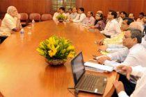 Modi pats PMO officials for hard work, dedication