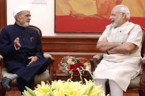 The Governor of Manipur, Dr. Syed Ahmed calling on the Prime Minister, Narendra Modi, in New Delhi on May 28, 2015.