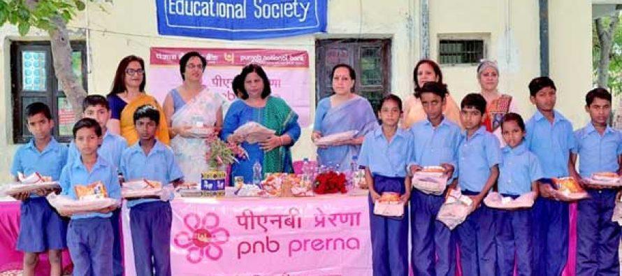 PNB Perform CSR Activity at Faridabad